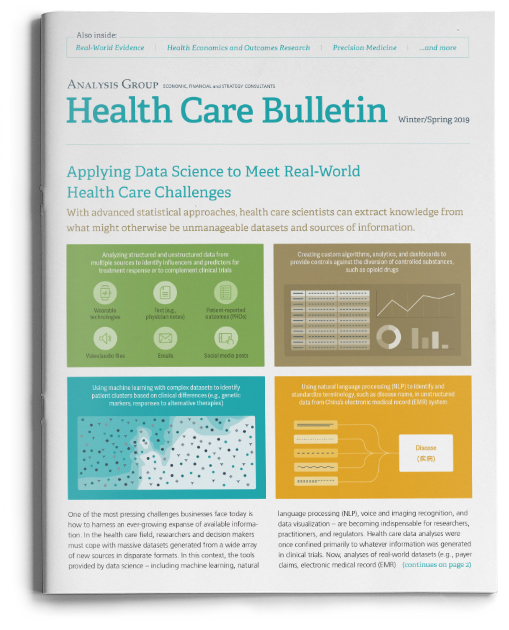Health Care Bulletin: Winter/Spring 2019