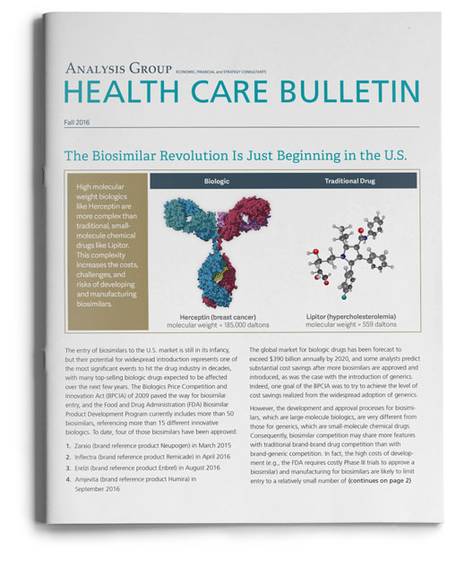 Health Care Bulletin: Fall 2016