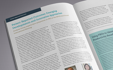Patient-Reported Outcomes: Emerging Developments and Innovative Approaches