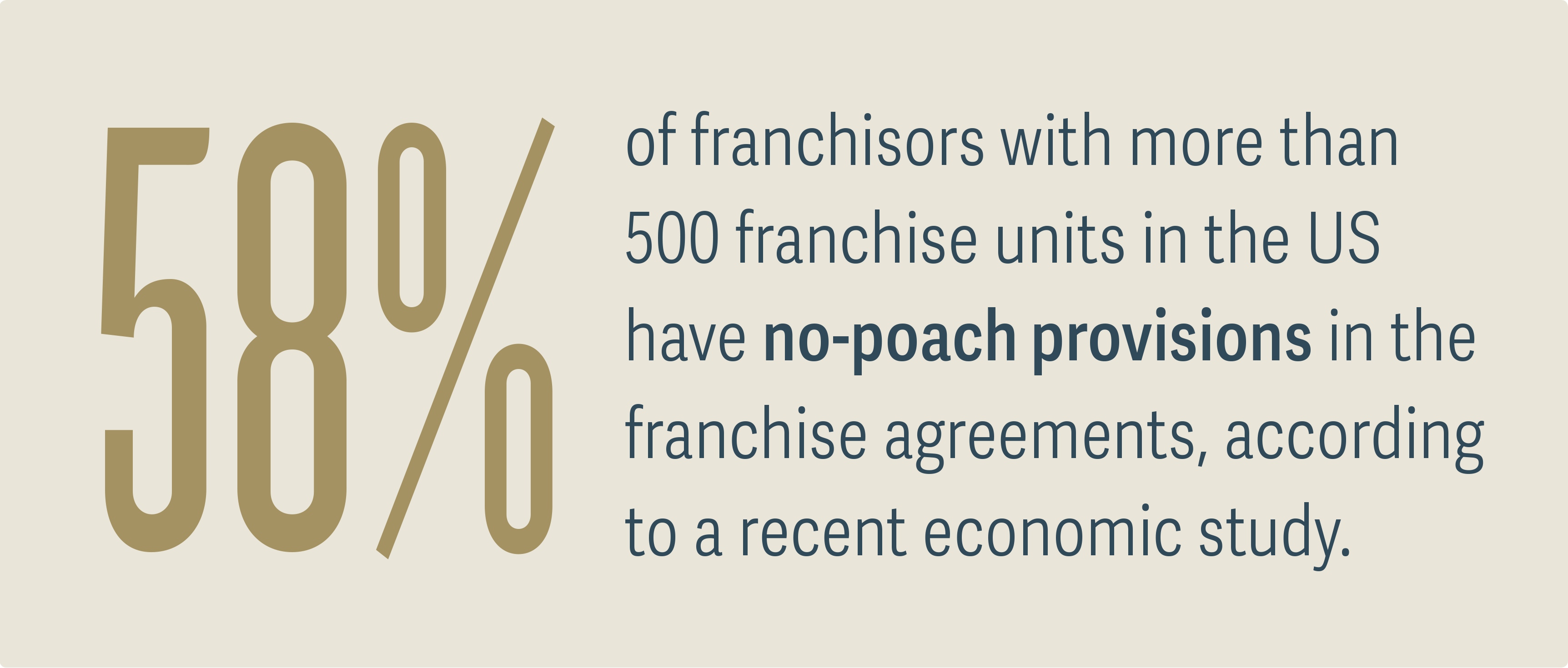 Franchise No-Poach Agreements Face Antitrust Scrutiny - Figure 1